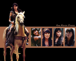 Xena Wallpaper 01 by Gennco