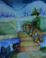 Moomin: The winter is coming by khossh