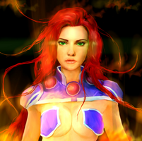 Solar Flare by Ristay