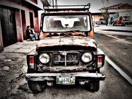 Antique Jeep by maxjdgt