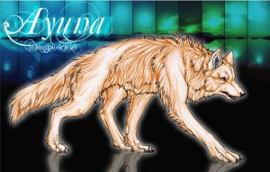 .::Ayuna::. by WhiteSpiritWolf