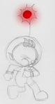 Olimar Blowing his Whistle by PuccaFanGirl