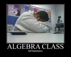 Algebra Class -demotivation- by Dragunov-EX