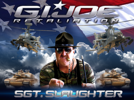 Sgt. Slaughter GI Joe: Retaliation by Photopops