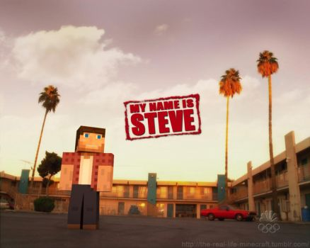 My name is Steve by Weed-Lion
