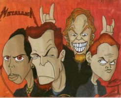 Metallica-Four Horsemen by Giosuke