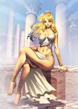 Helen of Troy by GENZOMAN