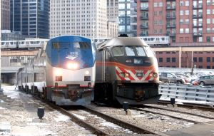 Amtrak, Metra, CTA at Canal St by JamesT4