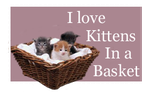 I Love Kittens In a Basket by Loulou13