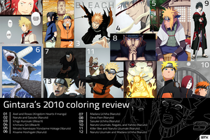 2010 Coloring Review by Gintara