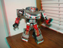Alternator Silverstreak in 3D by LittleBigDave