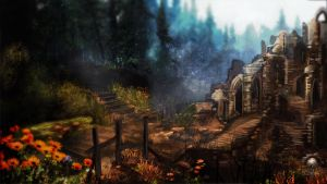 Enderal Lost Forrest by Scarlia