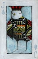 Bird- Jack of Spades ACEO by SethFitts