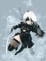 Yorha 2B by DonTot