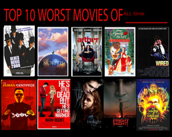 MM13's Worst Movies. by monstermaster13