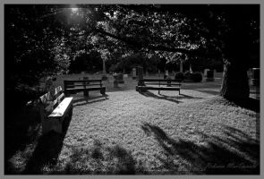 Evening in the Churchyard by Rebacan