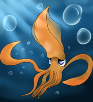 Squid by Luckynight48