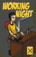 Working Night by Jean--Franco