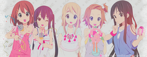 Happy K-on Header by EdotenseiHime