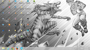 my new Desktop by Raptors0verlord