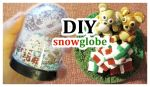 DIY Polymer Clay Snowglobe by Shiritsu