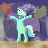 The Great and Powerful Lyra! by Revokat