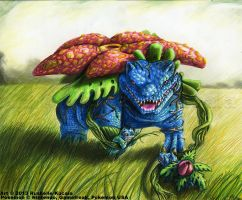 Venusaur by TheDragonofDoom