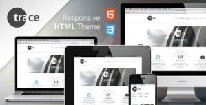 Theme Preview Image trace HTML Template by entiri