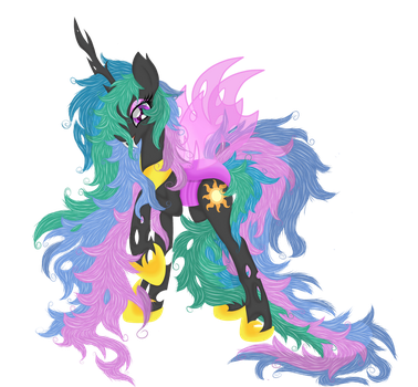 Princess Celestia (Chanegling Vector) by Law44444