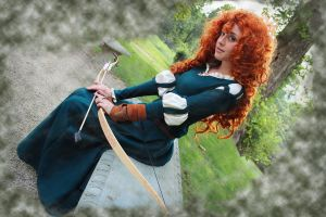 Merida from Disney/Pixar's *Brave* by greyloch-md