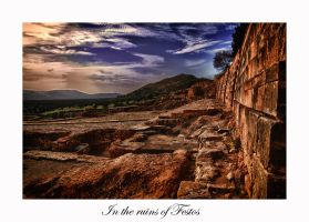 The Ruins of Festos by calimer00