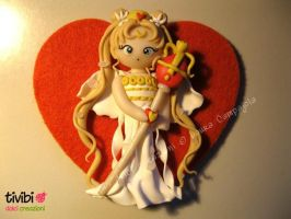 Sailor Moon (Princess Serenity) by tivibi