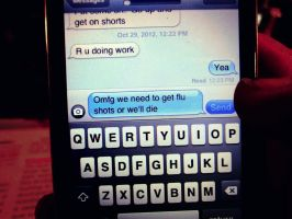 Text message by screamingoldwoman