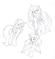 Request Sketches 1 by PajamaHam