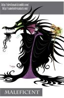 Maleficent by Samolo