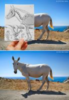 Behind the Scene - Pencil Vs Camera 40 by BenHeine
