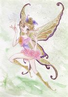 Fairy watercolor by Tavicat