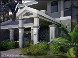 EXTERIOR RESIDENCE 5 by ARCHJUN