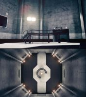 GLaDOS's chamber - W.I.P. 5 by RyanGlose