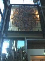old stained glass used in new museumpart by StarGateFanFre