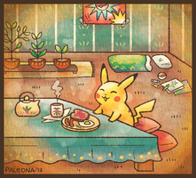 Good Morning, Pikachu by Paleona