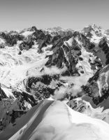 View from Aiguille du Midi, France by paulinapl87