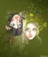 Two faced nature by En-B