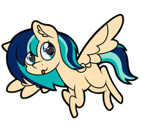 .::Commission::. Chibi Sapphire Breeze by FrozenStar37615