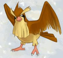 Simple Pidgey by french-teapot