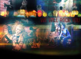 We Will Rock You by bcboo