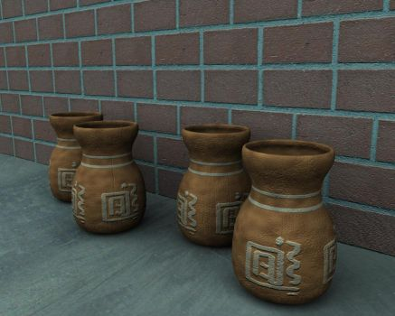 Old Pots by KoiPolloi