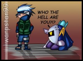 Kakashi or Meta Knight by warpstar99