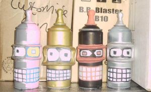 a family of benders spray cans by ztenzila