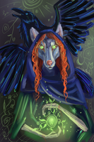 The Last Druid by whitecrow-soul